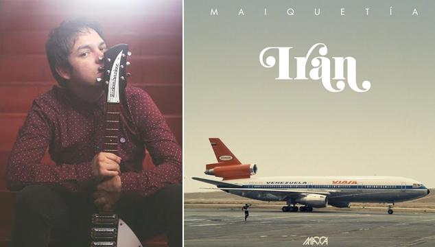 """imagen Luis Irán, vocalista de Los Paranoias, estrenó """"Maiquetía"""", su primer tema como solista"""