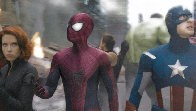 imagen Si Spider-Man hubiera estado en 'The Avengers' (VIDEO)
