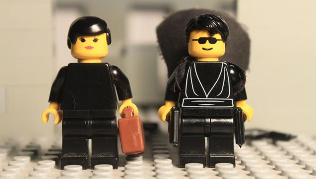imagen Un remake toma por toma de la escena del Lobby de 'Matrix' hecho con Legos (VIDEO)
