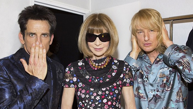 imagen Derek Zoolander (y Hansel) reaparecieron en un desfile de Valentino en la Semana de la Moda de París (VIDEOS)