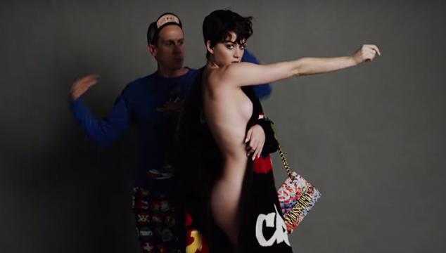Katy Perry se desnuda para pedir a los estadounidenses