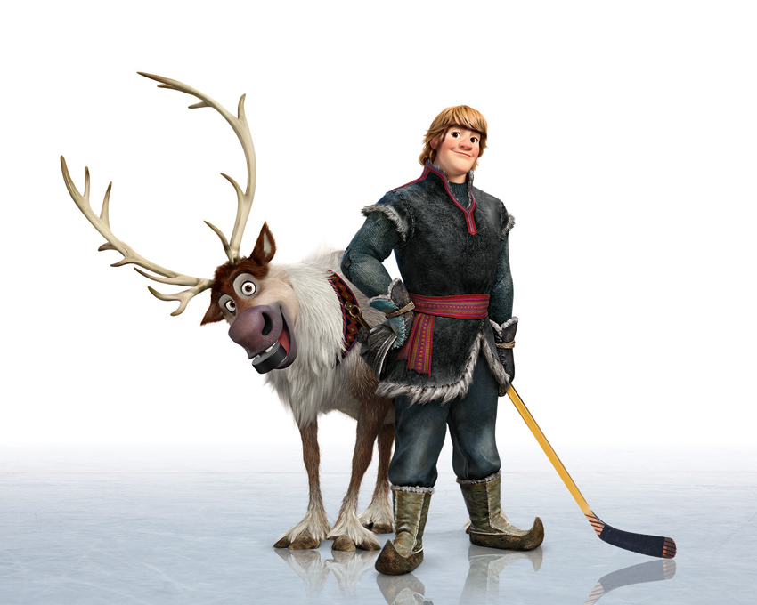Frozen-Sven-and-Kristoff-Playing-Hockey