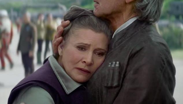 imagen Carrie Fisher revela que Leia ya no es una princesa en 'Star