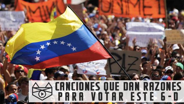 imagen 33 canciones venezolanas que te dan razones para ir a votar el 6-D