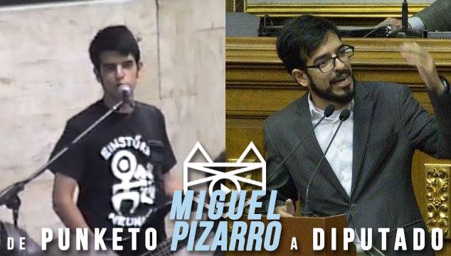 imagen De Punketo a Diputado: Así sonaba Kolumpio, la banda de Miguel Pizarro