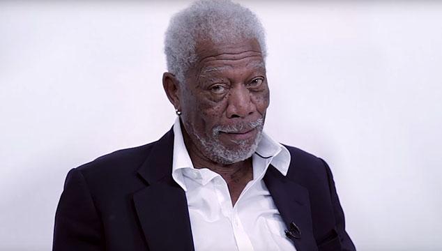 """imagen Morgan Freeman lee dramáticamente la letra de """"Love Yourself"""" de Justin Bieber (VIDEO)"""
