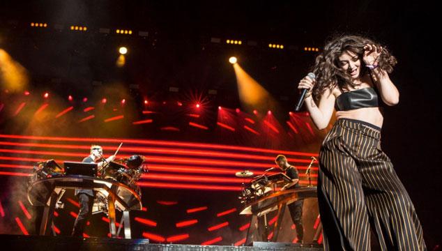 imagen Lorde y Sam Smith se unieron a Disclosure en la tarima del Coachella