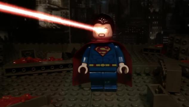 imagen El tráiler de 'Batman v Superman: Dawn of Justice' recreado en LEGO