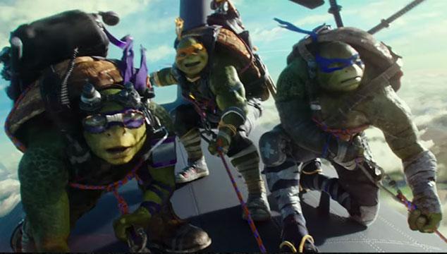 imagen Nuevo tráiler de 'Las Tortugas Ninja 2'