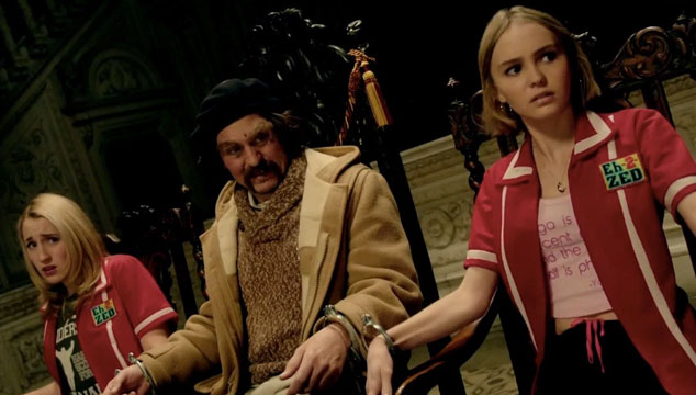 imagen Tráiler de 'Yoga Hosers', con Johnny Depp y su hija Lily-Rose