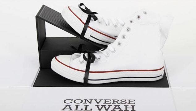 imagen Los nuevos Converse con pedal Wah-Wah incluido son el sueño de todo guitarrista