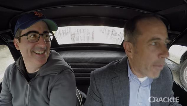 tr iler de la octava temporada de comedians in cars. Black Bedroom Furniture Sets. Home Design Ideas