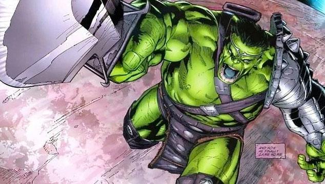 imagen Esta es la armadura que usará Hulk en 'Thor: Ragnarok'