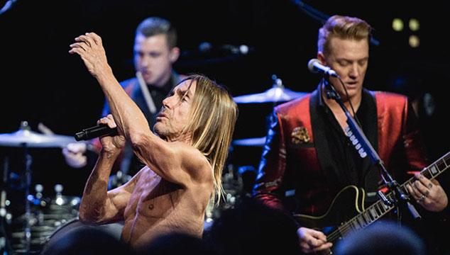 imagen La presentación de Iggy Pop y Josh Homme en Austin City Limits