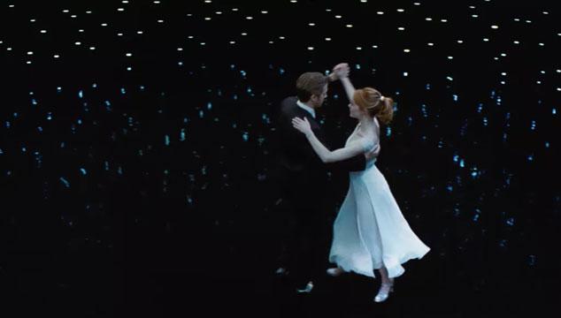 imagen 'La La Land' hizo pleno y rompió récord en los Golden Globes 2017