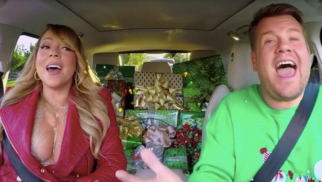 imagen Adele, Chris Martin, Mariah Carey y más cantan en el especial de navidad de Carpool Karaoke con James Corden