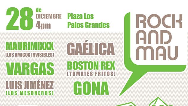 imagen Este miércoles 28 de Diciembre habrá Rock and Mau gratis en Caracas