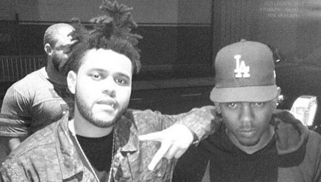 imagen The Weeknd cantó con Kendrick Lamar en un concierto