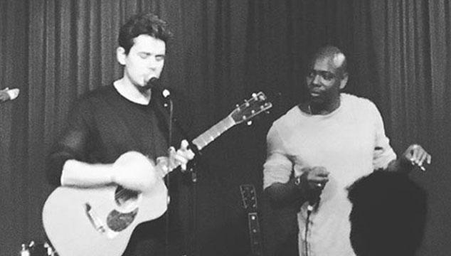 imagen Dave Chappelle tocó 'Come As You Are' de Nirvana con John Mayer