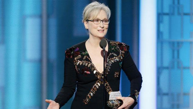 imagen El poderoso discurso de Meryl Streep en los Golden Globe 2017