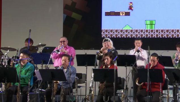 imagen Esta banda toca versiones en vivo de los temas clásicos de Nintendo