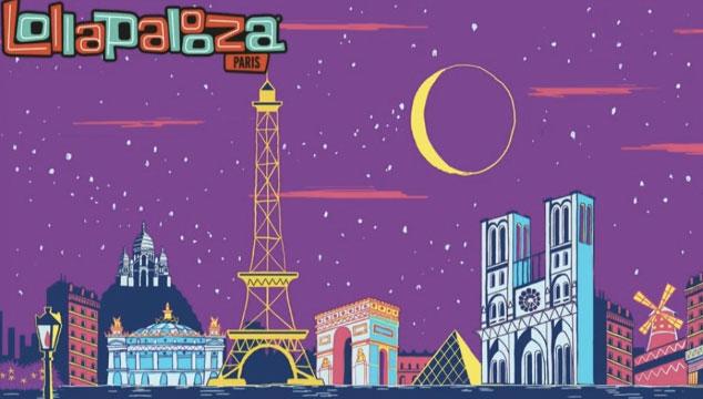 imagen Se anuncia la primera edición del Lollapalooza Paris
