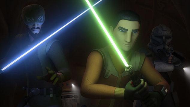imagen El tráiler de la tercera temporada de 'Star Wars Rebels' recrea escenas de las películas