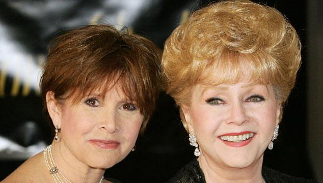imagen Se revelan las causas de muerte de Carrie Fisher y Debbie Reynolds