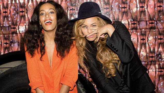 imagen Beyoncé entrevistó a su hermana Solange para una revista