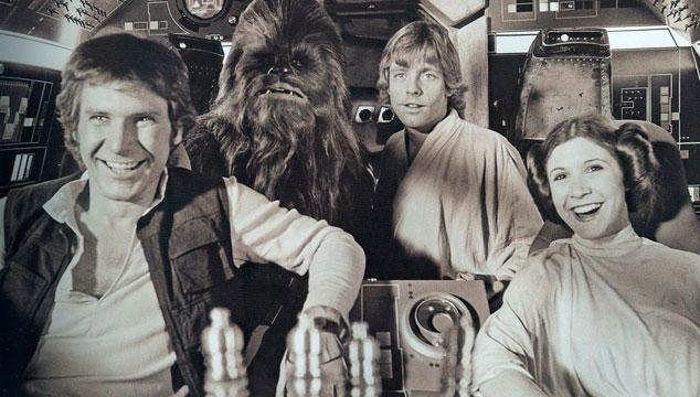 imagen Primera imagen de la producción de la película de Han Solo