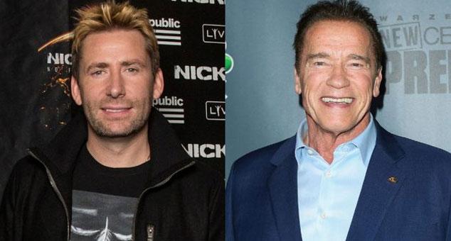 imagen Arnold Schwarzenegger se burló de Nickelback y la banda le contestó