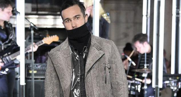 imagen Pete Wentz de Fall Out Boy se convirtió en modelo en la semana de la moda de Nueva York