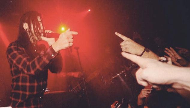 imagen Skrillex tocó con From First To Last, su banda emo, por primera vez en 10 años