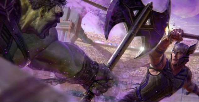 thor-and-hulk-fight-in-new-thor-ragnarok-concept-art-and-first-good-look-at-the-villain-hela1