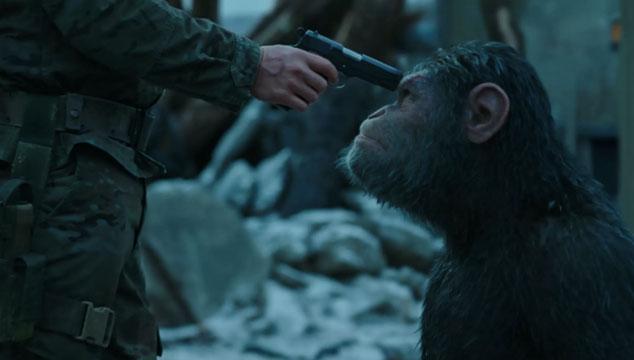 imagen Nuevo tráiler de 'War For The Planet of the Apes'