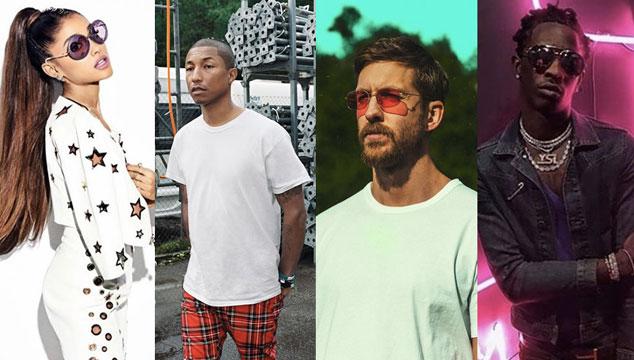 imagen Escucha 'Heatstroke', el nuevo tema de Calvin Harris con Ariana Grande, Pharrell y Young Thug