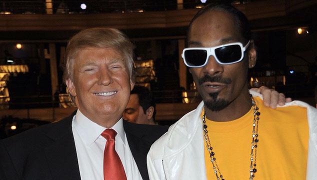 imagen Donald Trump descargó a Snoop Dogg en Twitter