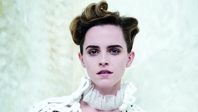 "imagen El discreto ""topless"" de Emma Watson para Vanity Fair"