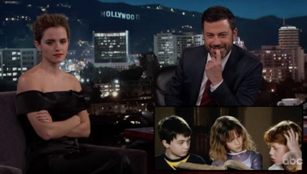 imagen Emma Watson revela cómo solía arruinar las tomas mientras grababa Harry Potter