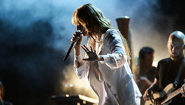 imagen Florence Welch cantó con The XX en Londres