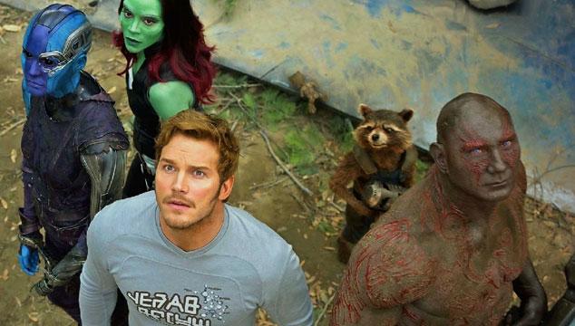 imagen El playlist que hicieron los protagonistas de 'Guardians of the Galaxy'