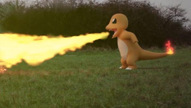 imagen Este video muestra cómo podría lucir una batalla de Pokémon en la vida real