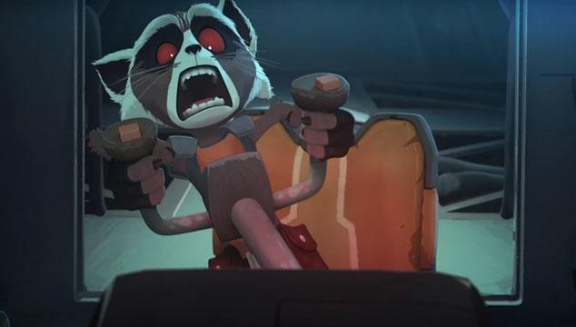 imagen Aquí puedes ver el primer capítulo de la serie web animada de Groot y Rocket Racoon ('Guardians of the Galaxy')