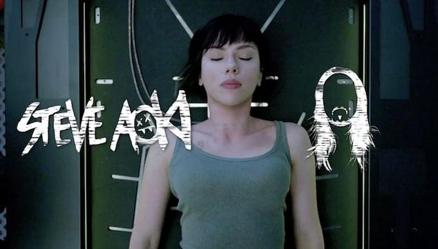 imagen Steve Aoki hizo un remix del tráiler de 'Ghost In The Shell'