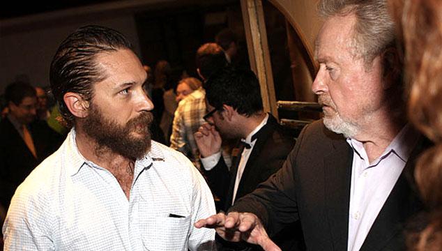 imagen Tom Hardy y Ridley Scott volverán a trabajar juntos en una película para Netflix