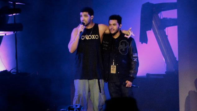 imagen Drake cantó de sorpresa con The Weeknd en un concierto en Londres