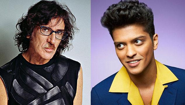 imagen Charly García acusa a Bruno Mars de plagiar 'Uptown Funk'