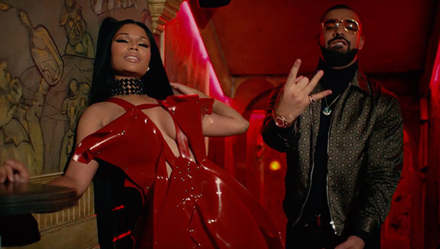 imagen Nicki Minaj, Drake y Lil Wayne son de la realeza en el video de 'No Frauds'