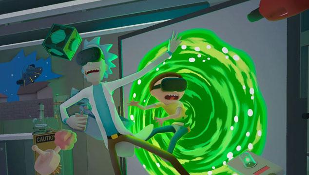 imagen El tráiler del videojuego de realidad virtual de 'Rick and Morty'