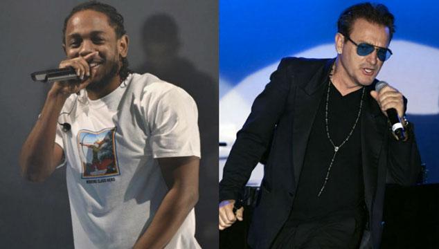 imagen U2 colaboró en el nuevo disco de Kendrick Lamar
